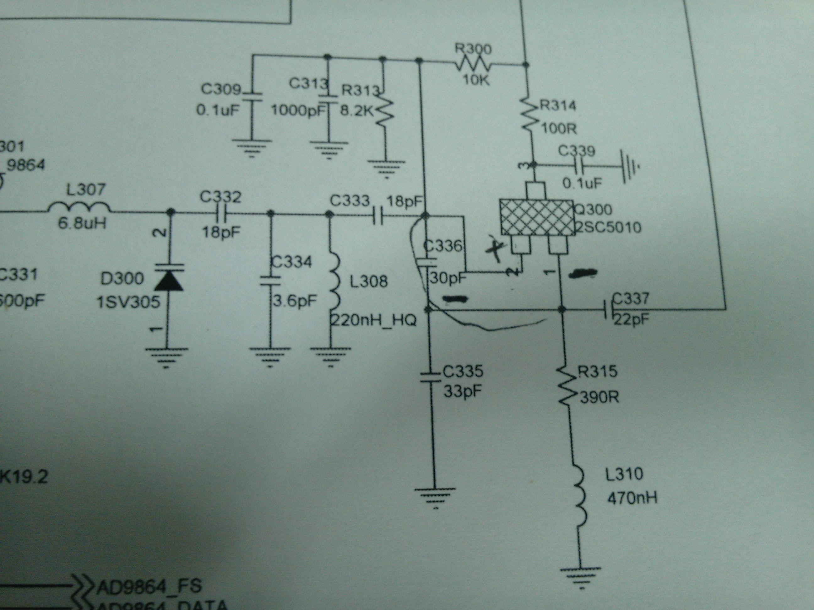 微波压控振荡器电路图