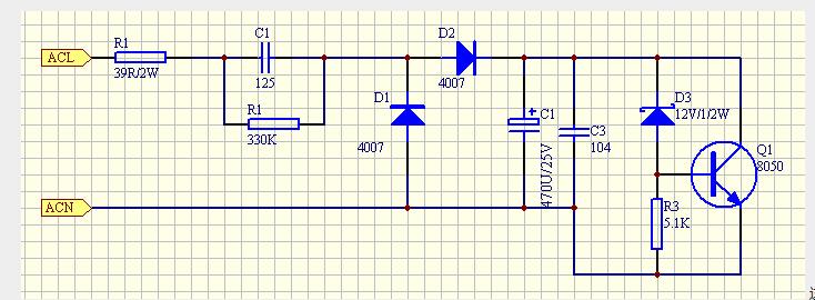 为什么阻容降压稳压电路会出现烧坏现象?